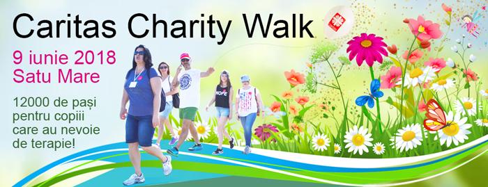 """Inca o saptamana pana la """"Caritas Charity Walk"""""""