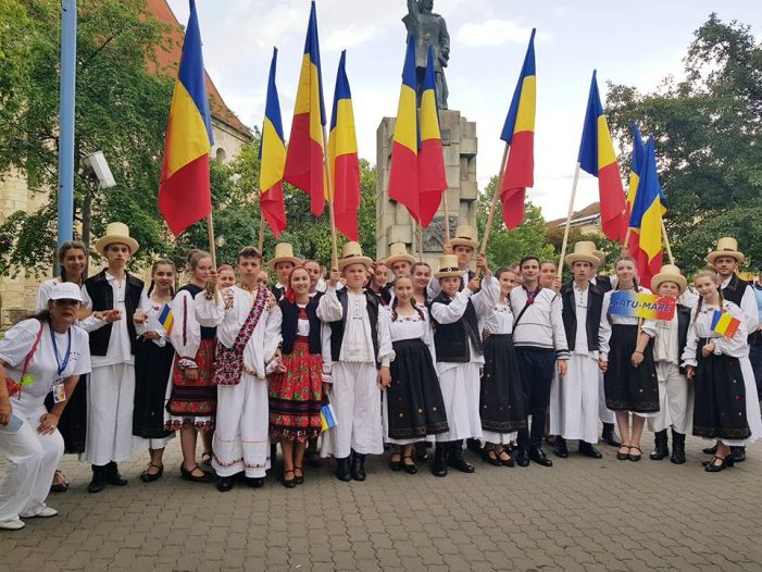 Eveniment de Centenar la Bistrița – mesaj din Orașul Imnului Național (Foto)