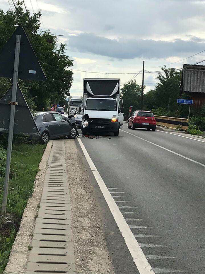 Accident grav. Mai multe victime (Foto)