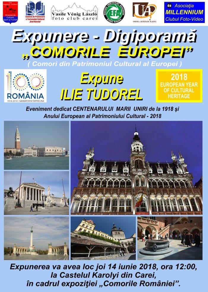 """""""Comorile Europei"""", promovate la Carei"""