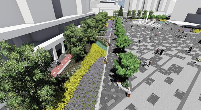Proiect pentru modernizarea Centrului Nou. Cum va arata (Foto)