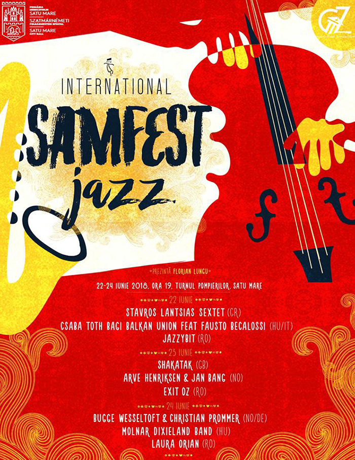 Samfest Jazz International. Cand are loc