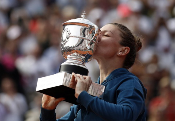 Simona a câştigat finala de la Roland Garros