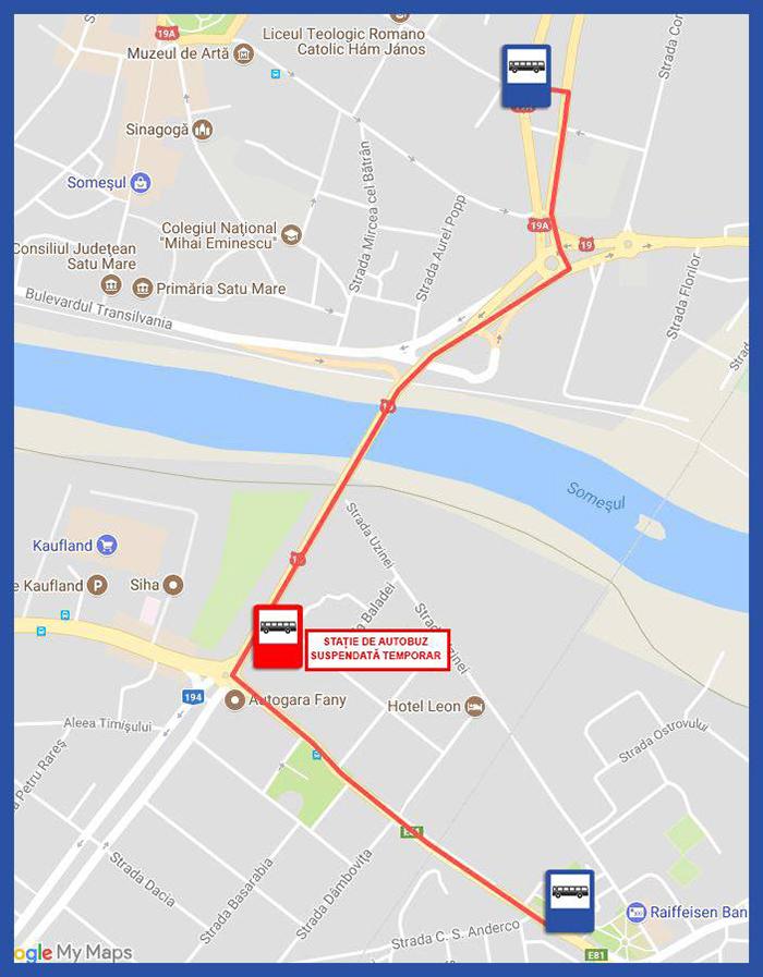 Se desfiinteaza statia de autobuz de pe Podul Decebal. De cand