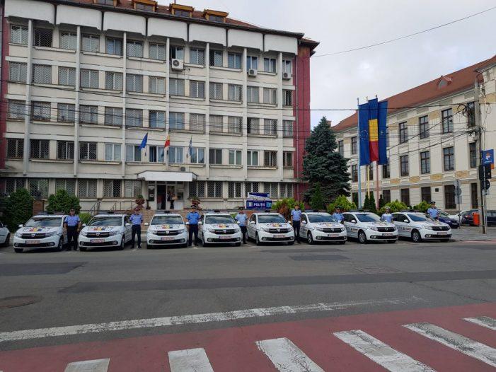Masini noi pentru Politia Satu Mare