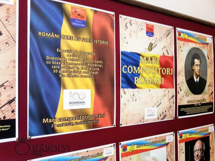 Mari compozitori români, la castelul din Carei