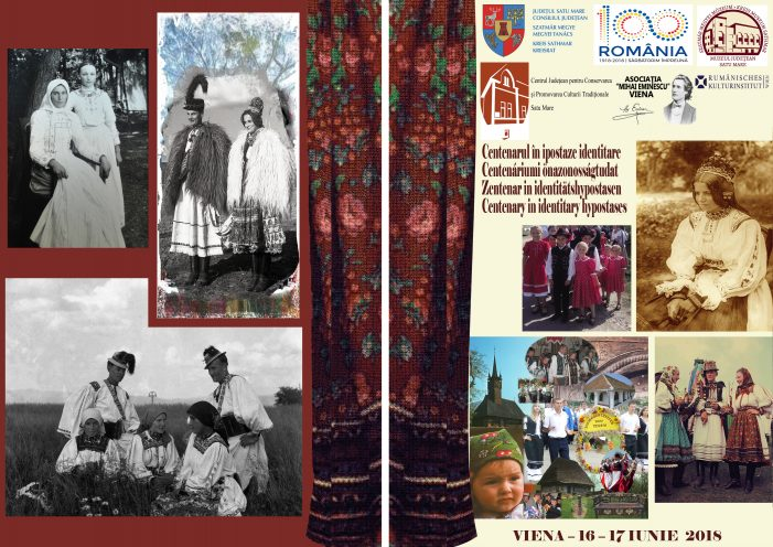 Romania saluta Viena ! Satu Mare reprezinta Romania la un proiect dedicat Centenarului Marii Uniri
