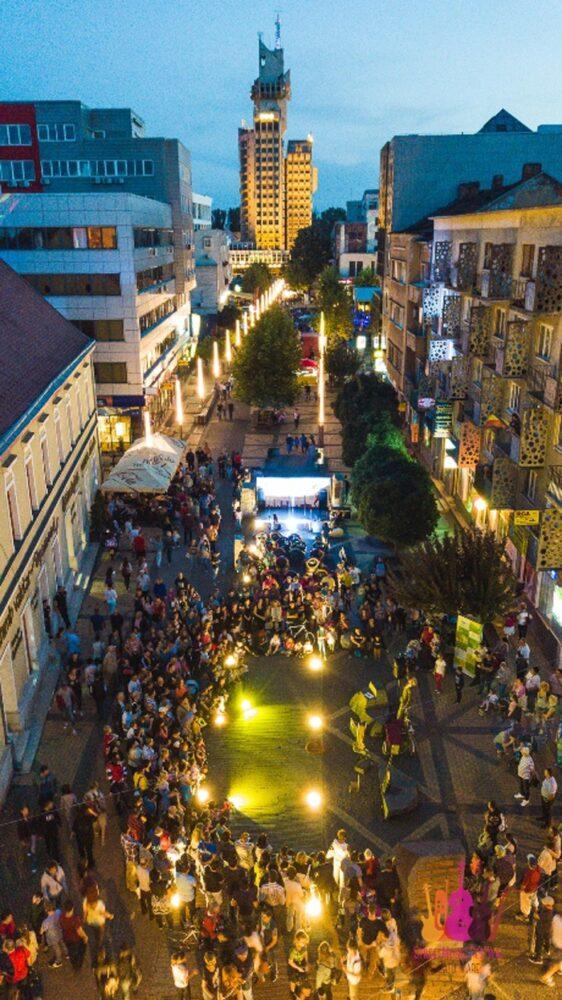 Satu Mare, capitala muzicii de strada. Vezi programul complet