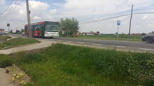 Statie de autobuz, pericol public: Copiii si batranii isi risca viata (Fotogalerie)