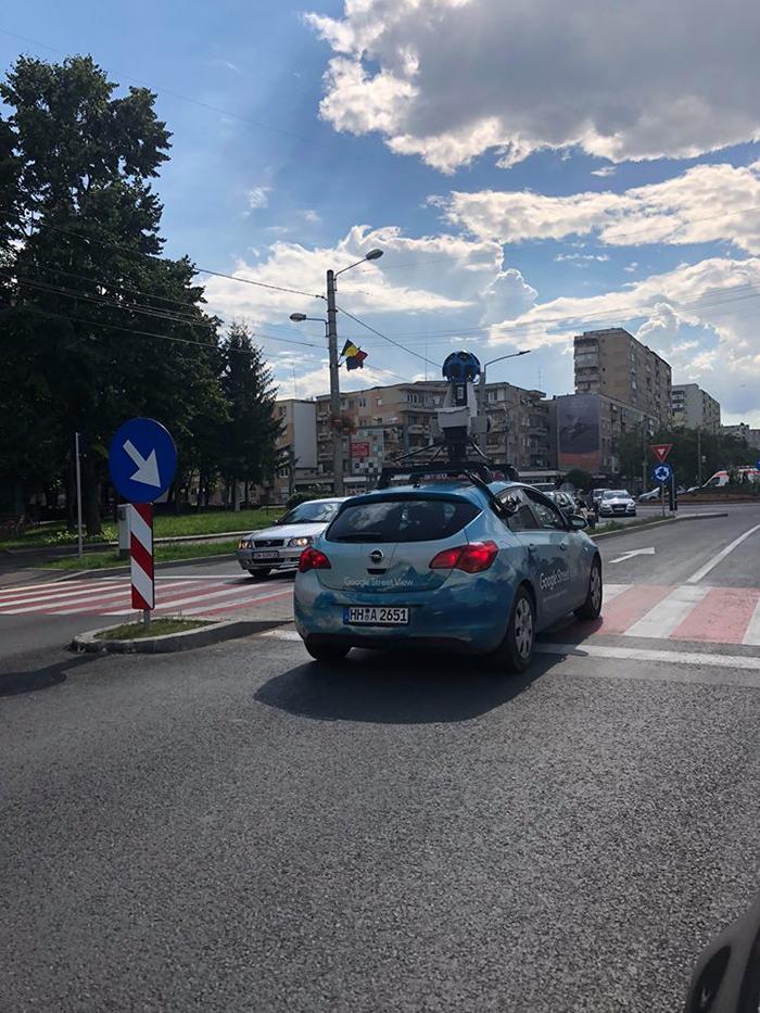 Satu Mare in atentia Google. Masina Google Street View pregateste noile imagini (Foto)