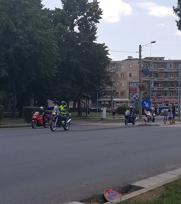 Marsul motociclistilor. Parada pe doua roti pe strazile municipiului Satu Mare (Foto)