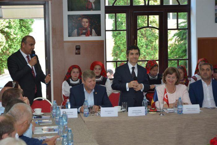 Ambasadorul Turciei, impresionat de ospitalitatea negreștenilor