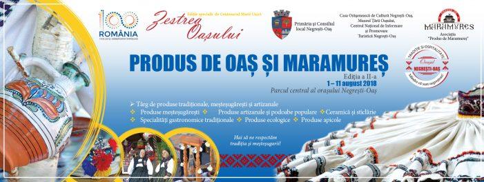 """A doua ediție a Târgului """"Produs de Oaș și Maramureș"""" se deschide miercuri, la Negrești-Oaș"""