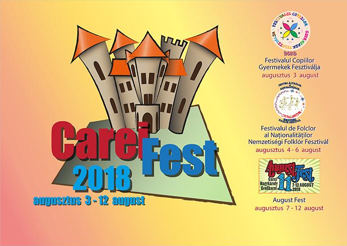 Carei Fest 2018. Programul oficial