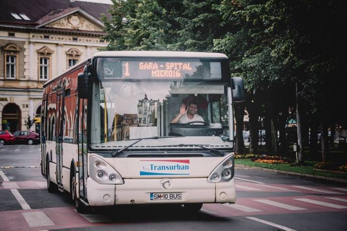 Statie de autobuz, suspendata temporar