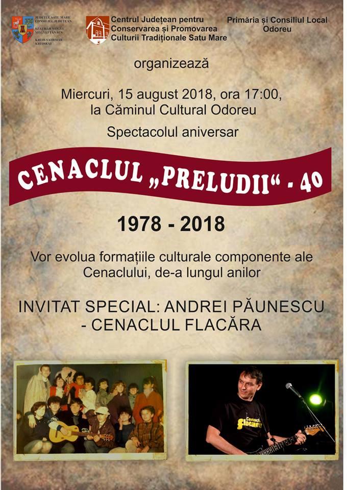 Andrei Paunescu, fiul marelui poet, vine in judetul Satu Mare