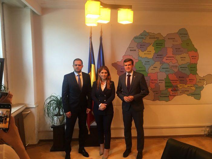 Romania si Polonia vor încheia un parteneriat în domeniul sportului. Ce spune ministrul Ioana Bran (Foto)
