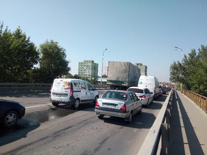 Podul Decebal, redeschis traficului