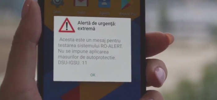 Sistemul Ro-Alert, testat in mai multe localitati din juudet