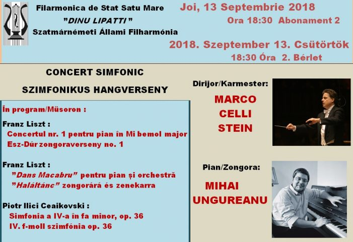 Concert, joi, la Filarmonica