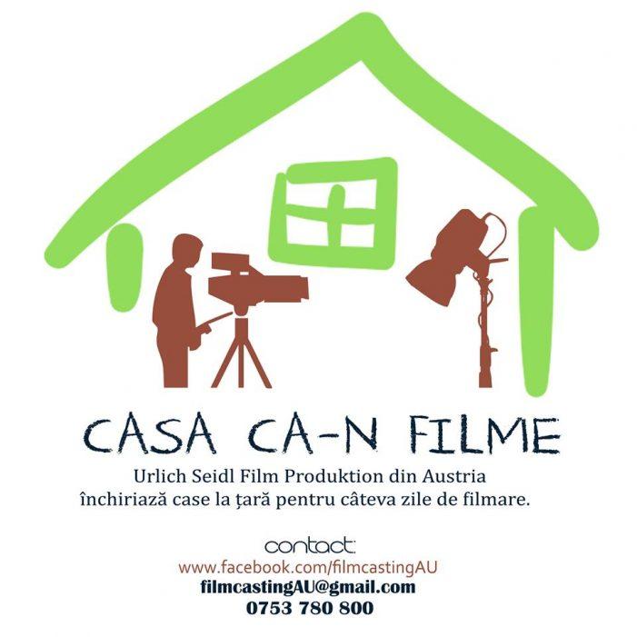 Transforma-ti casa in platou de filmare. Oferta unei companii de productie