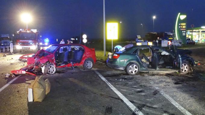 Accident teribil in Ungaria. Doi romani au murit