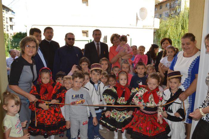 O nouă și modernă grădiniță a fost inaugurată la Negrești-Oaș