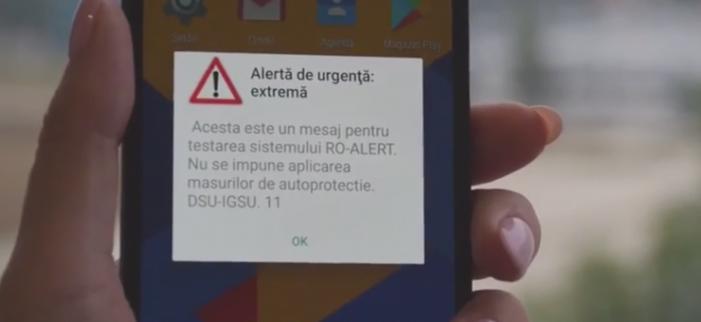 A fost lansat sistemul de avertizare Ro-alert. Vezi cum functioneaza