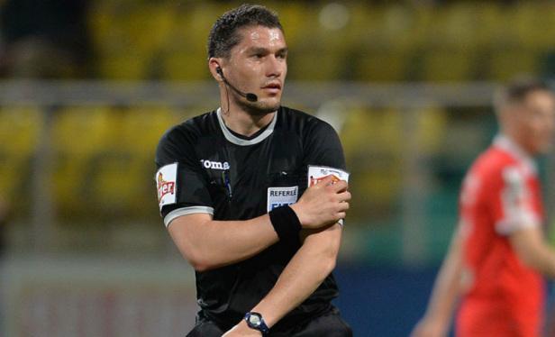 Istvan Kovacs va arbitra partida Norvegia – Cipru