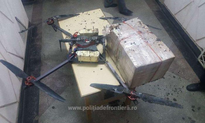 Tigari transportate cu drona