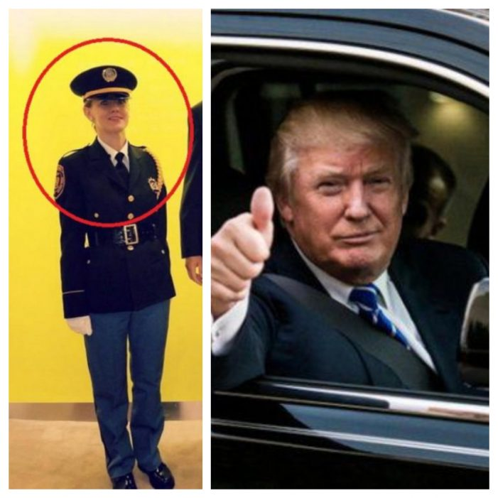 O romanca l-a escortat pe Donald Trump. Cine este aceasta