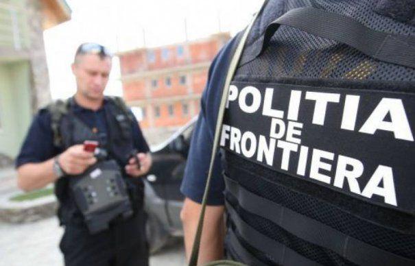 Focuri de arma la frontiera. Contrabandistii au sarit in rau