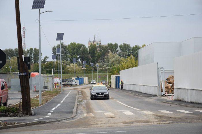 Au fost finalizate lucrările pe străzile Digului și Dunării