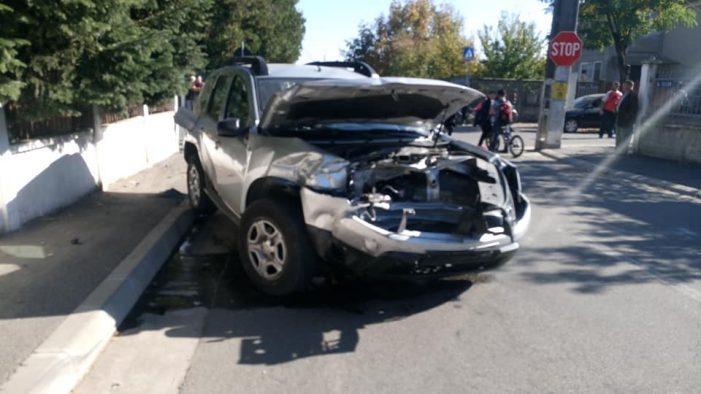 Accident grav. A daramat gardul (Foto)