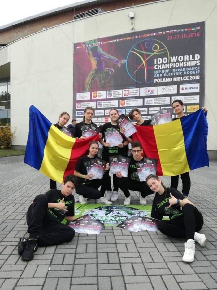 Crazy Dancers Satu Mare, la mondialele de dans hip-hop. Ce rezultutate au obtinut (Foto)