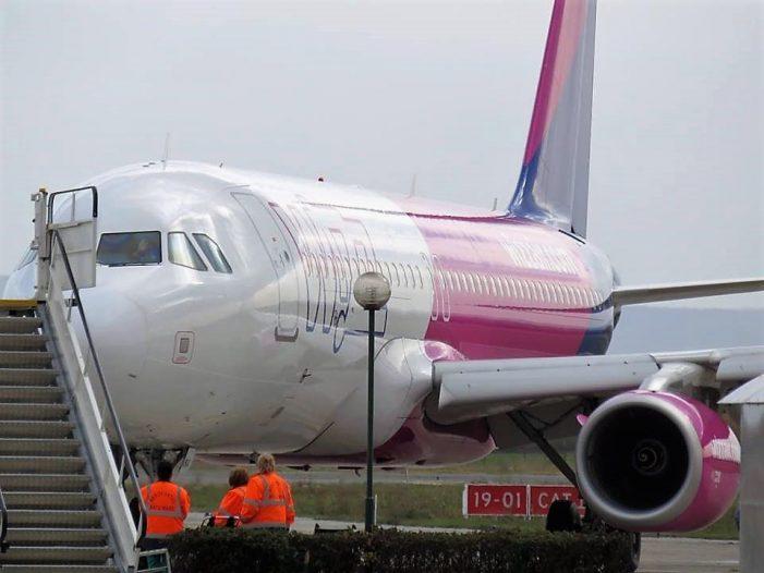 Wizz Air a crescut numarul curselor Satu Mare – Londra