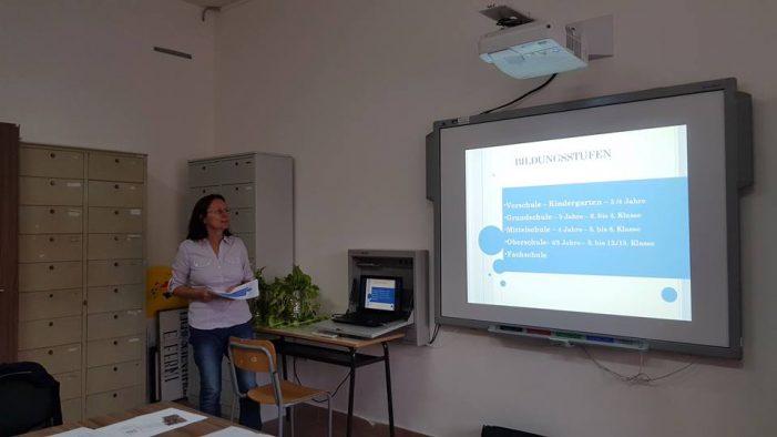 Profesori de la Liceul German, scoliti in Sicilia (Foto)