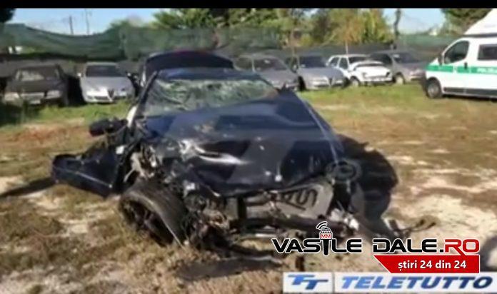 Accident teribil in Italia. Doi romani au murit (Foto)