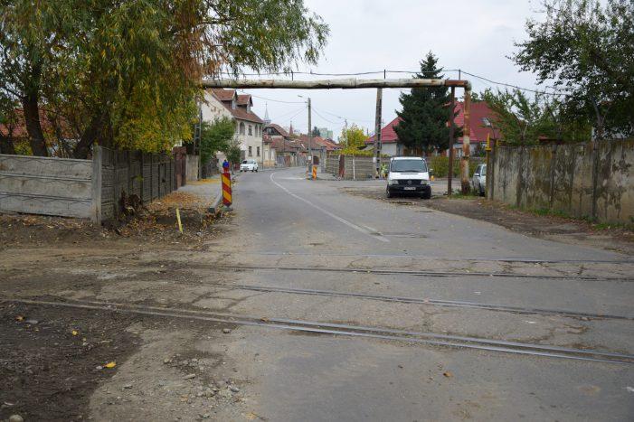 Lucrari de modernizare pe strada Cerbului. Tronson inchis circulatiei