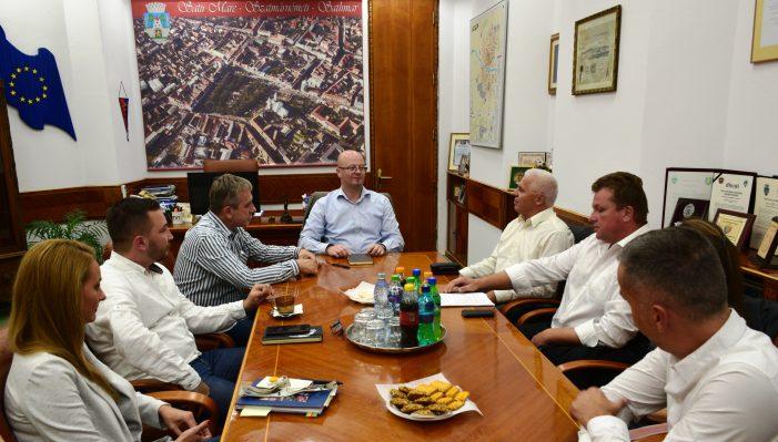 Satu Mare și Nyíregyháza vor implementa proiecte transfrontaliere comune