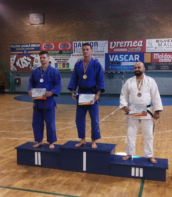 Pompierul de aur ! Cel mai bun judoka din tara (Foto)