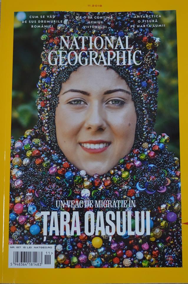"""Remus Țiplea a pus Țara Oașului pe coperta revistei """"National Geographic"""" (Foto)"""