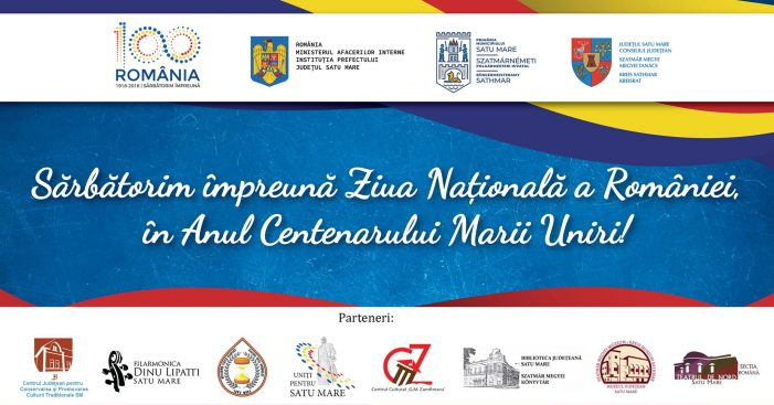Sarbatorim impreuna Ziua Nationala a Romaniei. Programul oficial