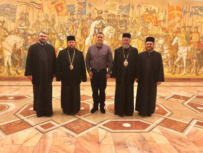 Episcopul Ortodox al Maramuresului si Satmarului primit de ministrul Gabriel Les (Foto)