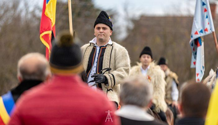 Calaretii, in frunte cu Adrian Cozma au pornit spre Alba Iulia (Fotogalerie)