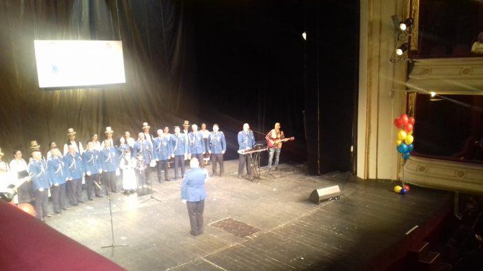 Eveniment caritabil la Teatru. Corul jandarmilor a impresionat audienta