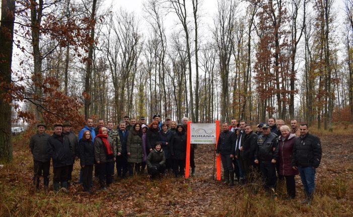 In cinstea Centenarului. Directorii de institutii au iesit la plantat copaci (Foto)
