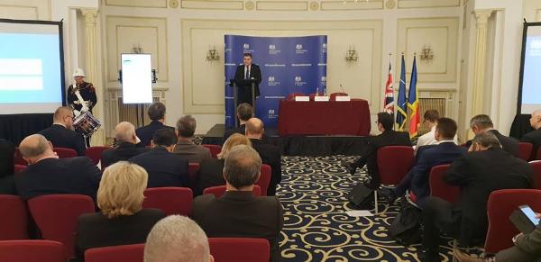 """Ministrul Gabriel Les: """"Marea Britanie reprezintă pentru România unul dintre cei mai importanți parteneri strategici"""""""