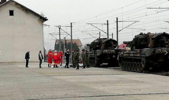 Tragedie ! Un militar a murit electrocutat (Foto)