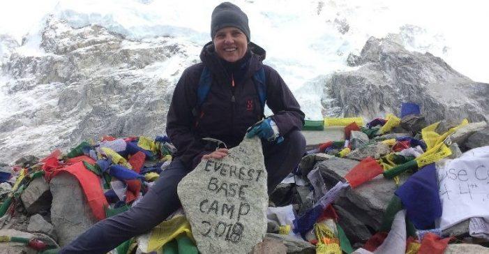 "Aventura in Himalaya. O satmareanca pe ""Acoperisul lumii"" (Foto)"